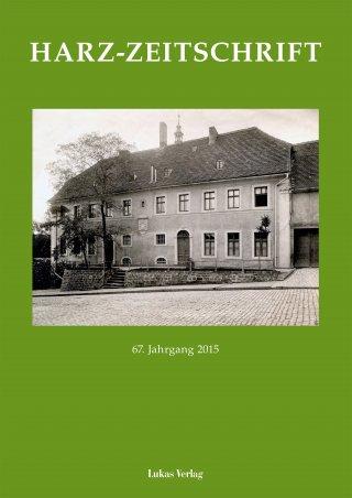 Harz-Zeitschrift 2015