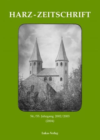 Harz-Zeitschrift 2002/03