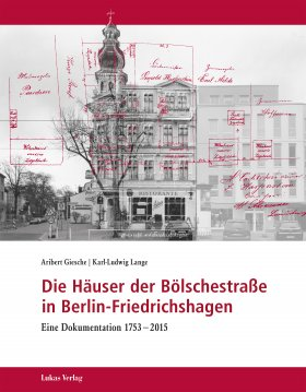Die Häuser der Bölschestraße in Berlin-Friedrichshagen