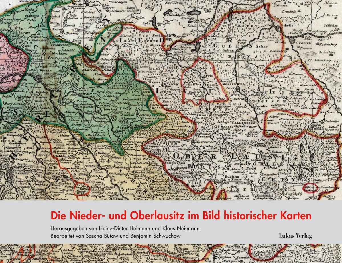 Historische Karte Potsdam.Die Nieder Und Oberlausitz Im Bild Historischer Karten